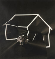William Wegman, 'Dog House (From Man Ray: A Portfolio of 10 Photographs)', 1982