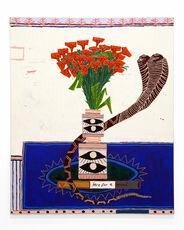 Snake avec Flowers