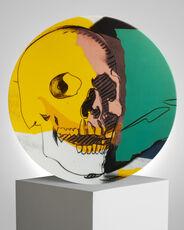 Skull Yellow / Pink