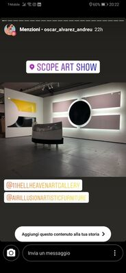 11 [HellHeaven] at SCOPE Miami Beach 2019, installation view