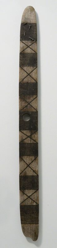 Roger Ackling, 'Voewood', 2013, Sculpture, Sunlight on wood with nails, Annely Juda Fine Art