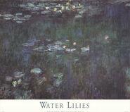 Waterlilies: Green Reflections II