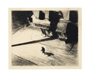 Night Shadows, from Six American Etchings (Series I)