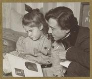 Daughter Kitty Stieglitz and Edward Steichen
