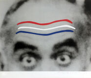 Raised Eyebrows/Furrowed Foreheads (Red, White and Blue)