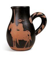 Pablo Picasso, 'Madoura Ceramic Pitcher- PICADOR, Ramié 162', 1950-1959