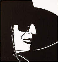 Alex Katz, 'Black Hat (Ada)', 2012