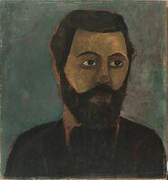 Paula Modersohn-Becker, 'Portrait de Werner Sombart ', Spring 1906
