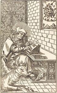 Lucas Cranach the Younger, 'Saint Luke'