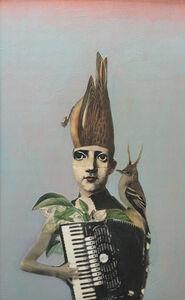 Suzanne Sbarge, 'Accordion Bird', 2016