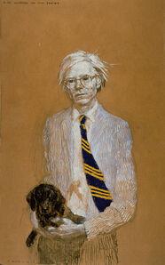 Jamie Wyeth, 'A.W. Working on the Piss Series', 2007
