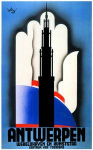 Lucien De Roeck, 'Antwerpen', 1935