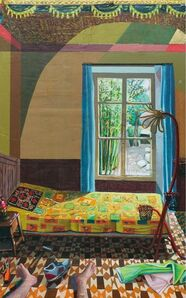 Mathieu Cherkit, 'Yellow Sleep', 2017