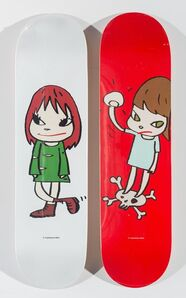 Yoshitomo Nara X MoMa, 'Welcome Girl and Solid First (two works)', 2017