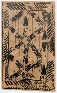 Mircea Cantor, 'Carpet With Artist's Hands and Ropes', 2021