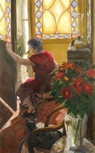 Juan Carlos Merlo, 'The Visit', 2003