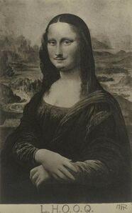 "Man Ray, 'Mona Lisa as seen by Duchamp (""La Joconde"" vue par Duchamp).', 1921-1922"