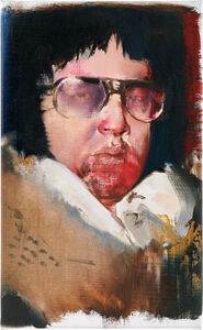 Adrian Ghenie, 'Elvis', 2009