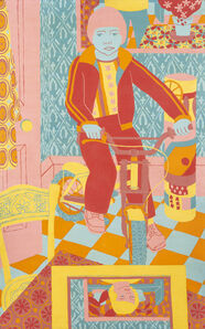 Norman Gilbert, 'Boy On A Bicycle', 1979