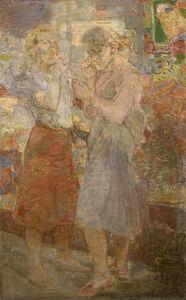 Isabel Bishop, 'Interlude', 1952