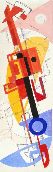 Max Ackermann, 'Bild 74', 1949
