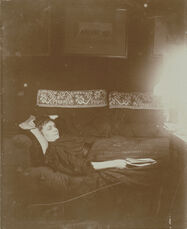 Louise Hal'vy Reclining