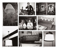 Eight works: (i) Coiled Incense; (ii) Ceiling Lamp; (iii) Fred Hughes; (iv) Natasha Grenfell and Alfred Siu; (v) Hong Kong Street (Truck); (vi) Sign: Cigarette Smoking is Hazardous to Health; (vii) Sofa and Table; (viii) Lamp