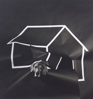 William Wegman, 'Dog House', 1981