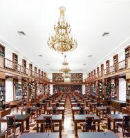 Candida Höfer, 'Rossiskaya Gosudarstvennaya Biblioteka Moskwa IV ', 2017