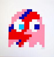 Invader, 'Aladdin Sane (Pink)', 2014
