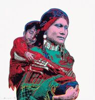 Andy Warhol, 'Mother and Child (FS II.383)', 1986