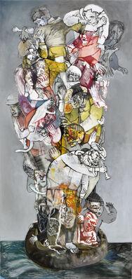 LINES IN TENSION : Sergio MOSCONA/ Lajos SZALAY, installation view