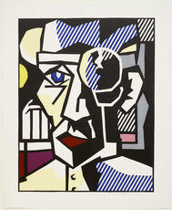 Dr. Waldmann from the Expressionist Woodcut Series