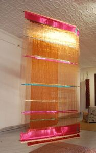 Hechizoo Textiles, 'Homage to Cruz-Diez', 2010