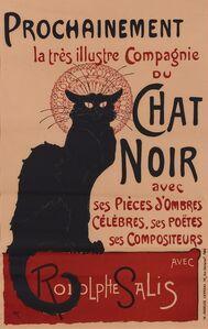 Théophile Alexandre Steinlen, 'Prochainement la très illustre Compagnie du Chat Noir...', 1896