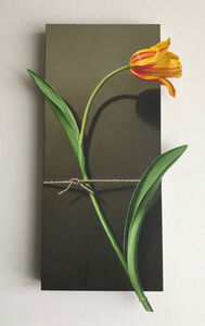 Otto Duecker, 'Nature Bound - Red and Yellow Tulip', 2020