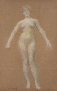 Thomas Wilmer Dewing, 'Female Nude'