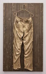 Mickalene Thomas, 'Untitled (Leather Pants)', 2014