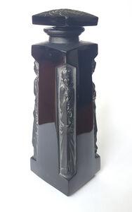 René Lalique, 'Ambre D'orsay Black Glass Perfume Bottle', ca. 1913