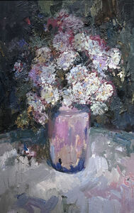 Giner Bueno, 'Still life with Flowers'
