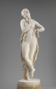 Antonio Canova, 'Dancer with Finger on Chin', model 1809/1814-carved 1819/1823