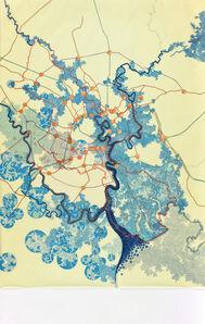 Tiffany Chung, 'one giant great flood 2050', 2012