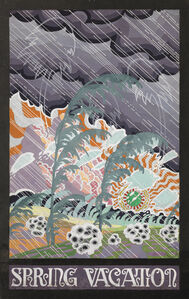 Charles Ephraim Burchfield, 'Spring Vacation', ca. 1915