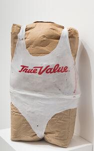 Tim Hawkinson, 'Double bag torso', 2019