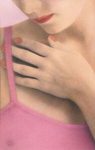 Maria Muller, 'Woman in Pink Top'