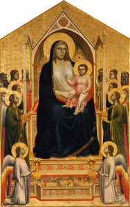 Giotto, 'Virgin and Child Enthroned', 1305-1310