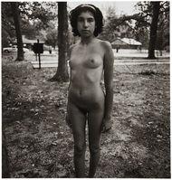 Diane Arbus, 'Adolescent girl at a nudist camp, N.J.', 1963