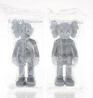 KAWS, 'Companion (Grey) and Dissected Companion (Grey) (two works)', 2016