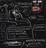 Jean-Michel Basquiat, 'Rinso', 2001