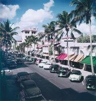 Slim Aarons, 'Palm Beach Street', 1953